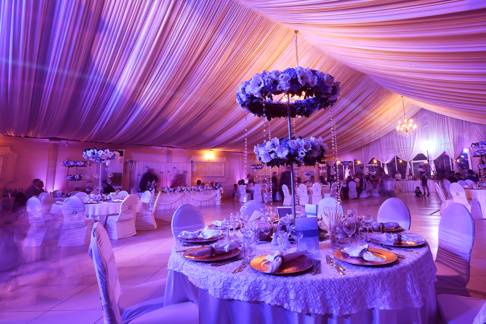 party equipment Melbourne wedding lighting